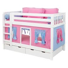 Toddler Tents For Beds Have To Have It Hot Shot Girl Twin Over Twin Tent Bunk Bed