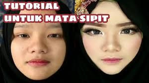 tutorial makeup mata sipit
