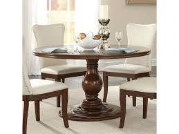 Homelegance Oratorio Transitional Round Dining Table With Pedestal
