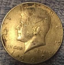 1972 Kennedy Half Dollar Value Chart 1969 D Kennedy Half Dollar Rare Silver Coins Collecting 50