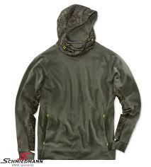 sweatshirt bmw active olive mens funktional size xl