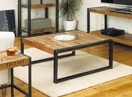 Diy Industrial Coffee Table Industrial Chic Living Room Zampco