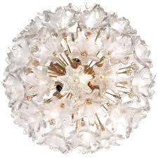 murano brass and glass flower ball chandelier chandeliers and pendants lighting inventory