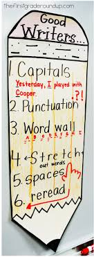 Anchor Charts For Writing Writing Anchor Charts Firstgraderoundup