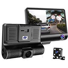 E-ACE <b>Car Dvr 3</b> Camera Lens 4.0 Inch Video Recorder: Amazon.in ...