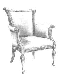 chair drawing. chair sketch drawing