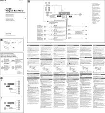 Cdx Chart Sony Cdx M30 Wiring Diagram Wiring Diagram Echo