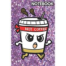 Making a colorful chevron macrame friendship bracelet can keep kids busy for hours. Buy Notebook Cute Angry Coffee Cup On Pink And Purple Glitter Stars Effect Background Lined Paper Note Book For Girls For Drawing Sketching Crayon Coloring Kids Journal Books Paperback April
