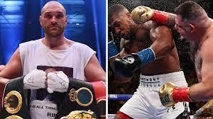 Anthony Joshua vs. Tyson Fury now ...