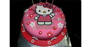 Send Hello Kitty Cakes To Gurugram Online Buy Hello Kitty Cakes