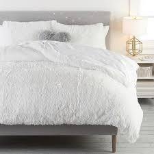 fluffy luxe duvet cover sham