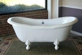 cast iron clawfoot slipper tub how much is a cast iron tub worth ss white slipper