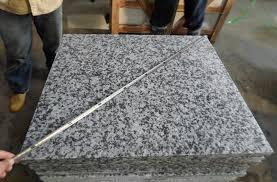 name flamed g439 guangdong granite tiles material type g439 guangdong granite color white grey finished flamed description granite tiles