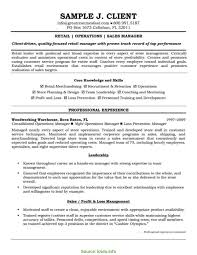 Retail Manager Resume Example Retail Management Resume Tjfs Journal Org