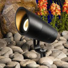 2018 outdoor low voltage led garden spot light 12v 3w cob ip67 garden grondspots spike lawn light lamp tree flood landscape lighting spotlight from