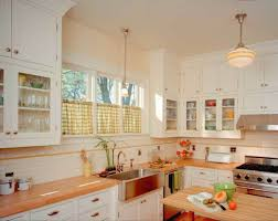Arts And Crafts Kitchen Lighting Two Arts Crafts Kitchens Bungalow Basic Adirondack Spirit