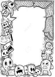 Art Doodle Frame Doodle Art Illustration