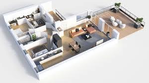 floor plan 3d. 3D Floor Plan Shoebox Living Room With Terrace. Open Fullscreen Floor Plan 3d