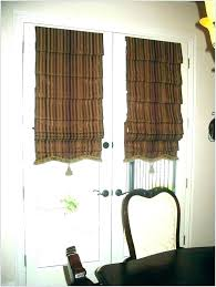 curtain for doorway back door window covering ideas curtains outstanding french sliding glass arched lowe