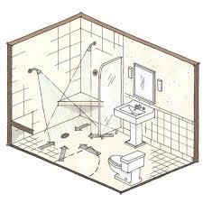 simple bathroom drawing. Contemporary Drawing Small Bathroom Layouts For 18 Best Layout  Decor On Simple Drawing F