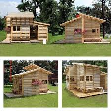 House Made From Pallets House Made Of Pallets 100 Diy Crafts And Projects Pinterest