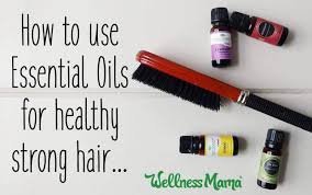how to use essential oils for stronger healthier hair naturally