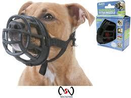 Baskerville Muzzle Size Chart Dog Muzzle Baskerville Ultra Muzzle Size 3 Black