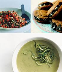 vegan recipes lentil salad chocolate chip cookies zuchinni basil soup