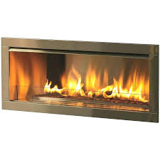 natural gas fireplace mantel inch outdoor linear fireplace natural gas with 4 inch stainless steel face