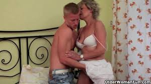Mature Young Guy Videos with Moms and Grannys
