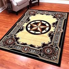 awesome star area rug or star area rug gold rugs for black and western with