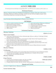 11 Pharmacy Technician Resume 2016 | Riez Sample Resumes