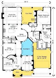house plans with courtyard in middle beautiful appealing new style ideas best interior pool