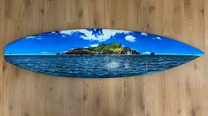 upcycle old surfboards and create art
