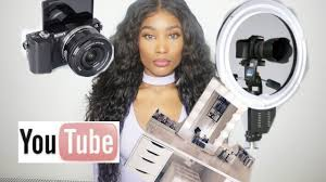 starting up a you channel on a budget makeup lighting camera and more you