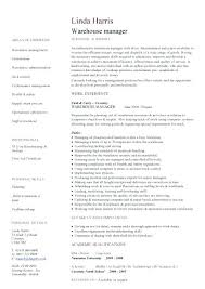 Functional Resume Template Word Enchanting Warehouse Manager Resume Templates Functional Resume Template Word
