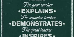 Good Teacher Quotes Custom A Good Teacher Inspires Quote Inspirational Quotes