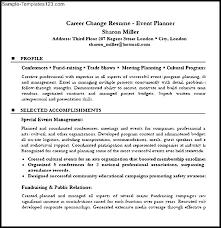 List Of Career Objectives Career Change Resume Example Career Change Resume Objective Resume