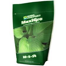 Maxi Grow Feeding Chart Maxiseries