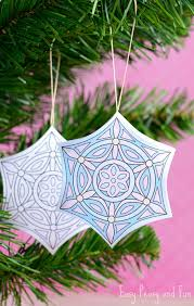 Print out the ornaments on card stock, and color as desired. Printable Christmas Ornaments To Color Easy Peasy And Fun