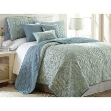 Discount Luxury Bedding & Comforter Sets | Duvets, Sheets, Pillows ... & Bali Seafoam Six-Piece Reversible King Quilt Set Adamdwight.com