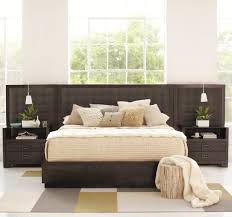 low profile king bed. Wonderful King Mercer Upholstered Low Profile King Bed With Panels By Bernhardt   Wayside Furniture Platform Or Akron Cleveland Canton Medina  To
