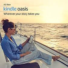 Kindle Oasis <b>8</b> GB: Waterproof e-Reader with <b>7 inch</b> screen and Wifi ...