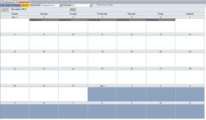Employee Scheduling Database Template Employee Scheduling