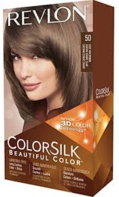 Revlon Light Ash Brown Hair Color Chart Revlon Colorsilk Hair Color 50 Light Ash Brown 1 Ea Pack Of 2 Walmart Com