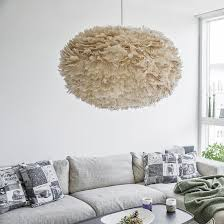 available in three sizes from medium to extra large each round lampshade is adorned with goose