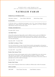 Journalism Resume Examples Examples Of Journalism Resumes Example