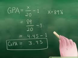 Indian Percentage To Us Gpa Conversion Chart How To Convert A Percentage Into A 4 0 Grade Point Average