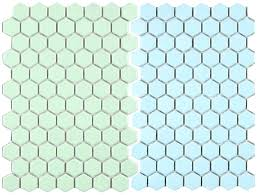 pastel hex tile mosaic 2 new porcelain floor options for your vintage large hexagon patterns