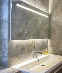 bathroom mirrors with led lights. Bathroom Led Illuminated Lighted Mirror With Sink Faucet  Lights Mirrors G